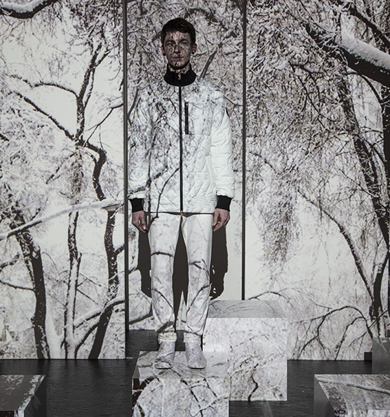 CHRISTOPHER RAEBURN FOR SAVE THE DUCK 'RECYCLE' COLLECTION 7