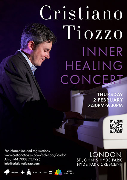 LIVING NOW Inner Healing concert by Cristiano Tiozzo