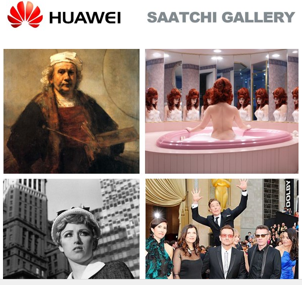 Saatchi Gallery and Huawei present From Selfie to Self-Expression