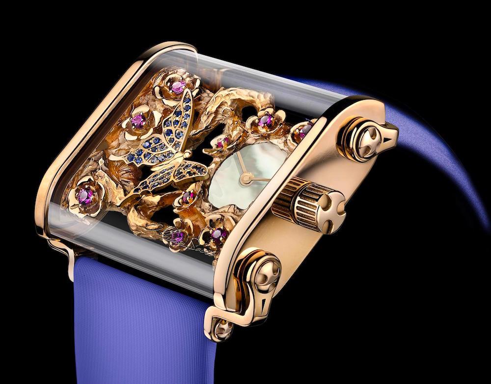 The Ollivier Saveo Butterfly Swiss Watch 3