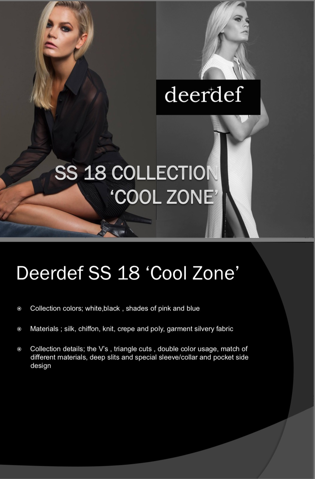 Deerdef SS 2018 Collection show will be staged at  London Kensington Town Hall 1