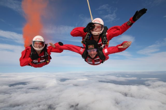 Lookers Chief flies high and helps raise £100,000 for military charity 2