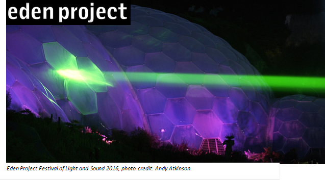 Eden Project Festival Of Light