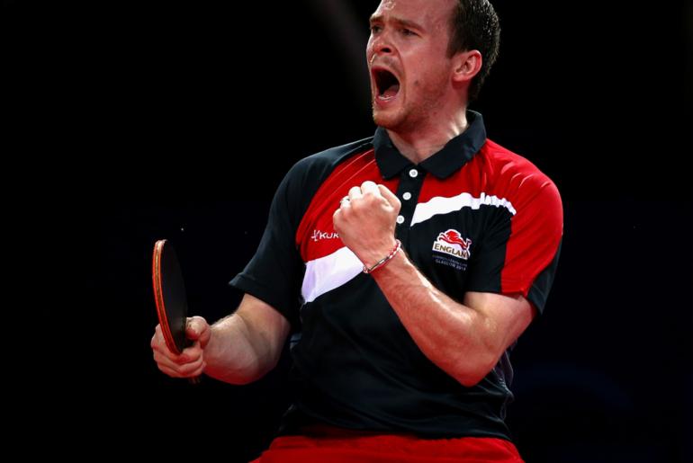 Team England Announces Table Tennis Players