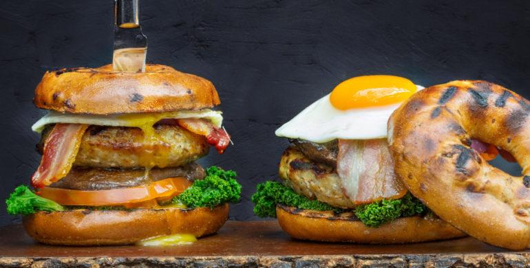 Ultimate breakfast burger