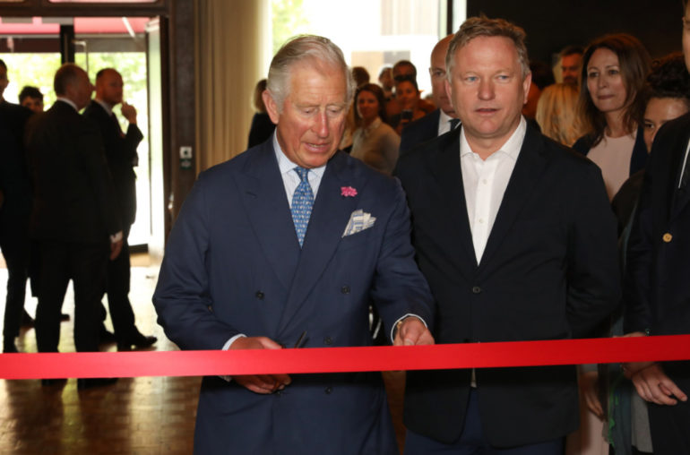 West city house royal visit (darren gerrish, british fashion council)