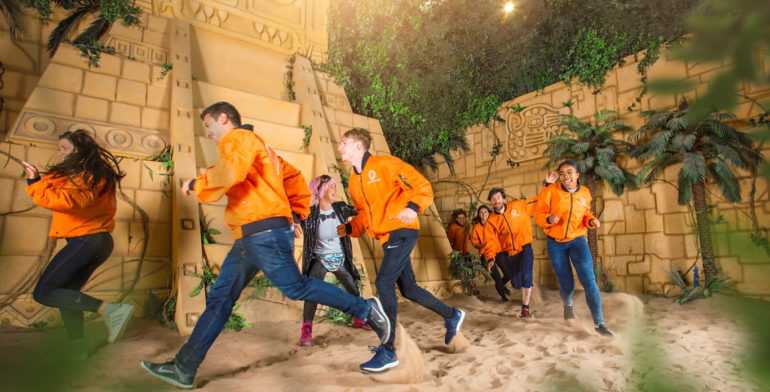 Crystal maze live experience