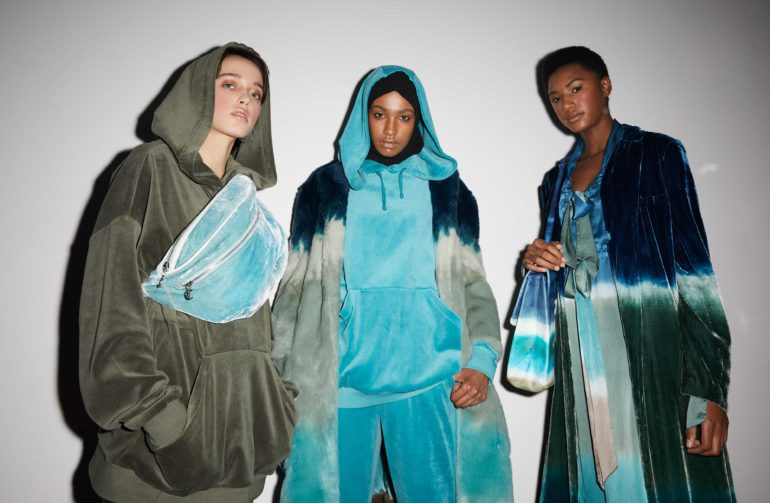 Juicy coture backstage lfwf shaun james cox british fashion council