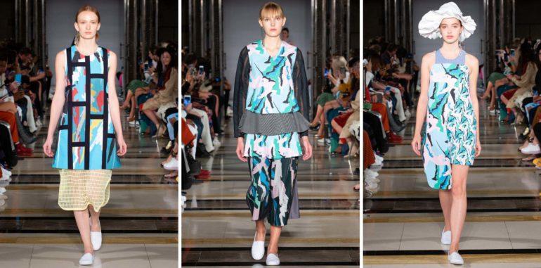 Cassey gan ss19 london fashion week