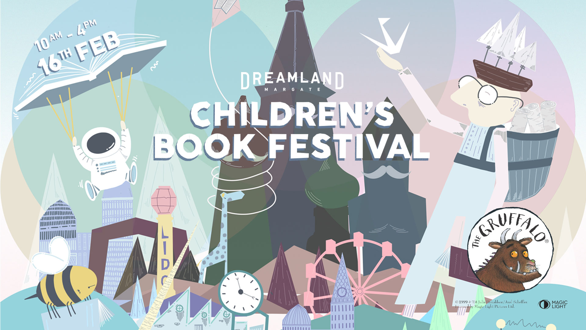 Dreamland's first children's book festival