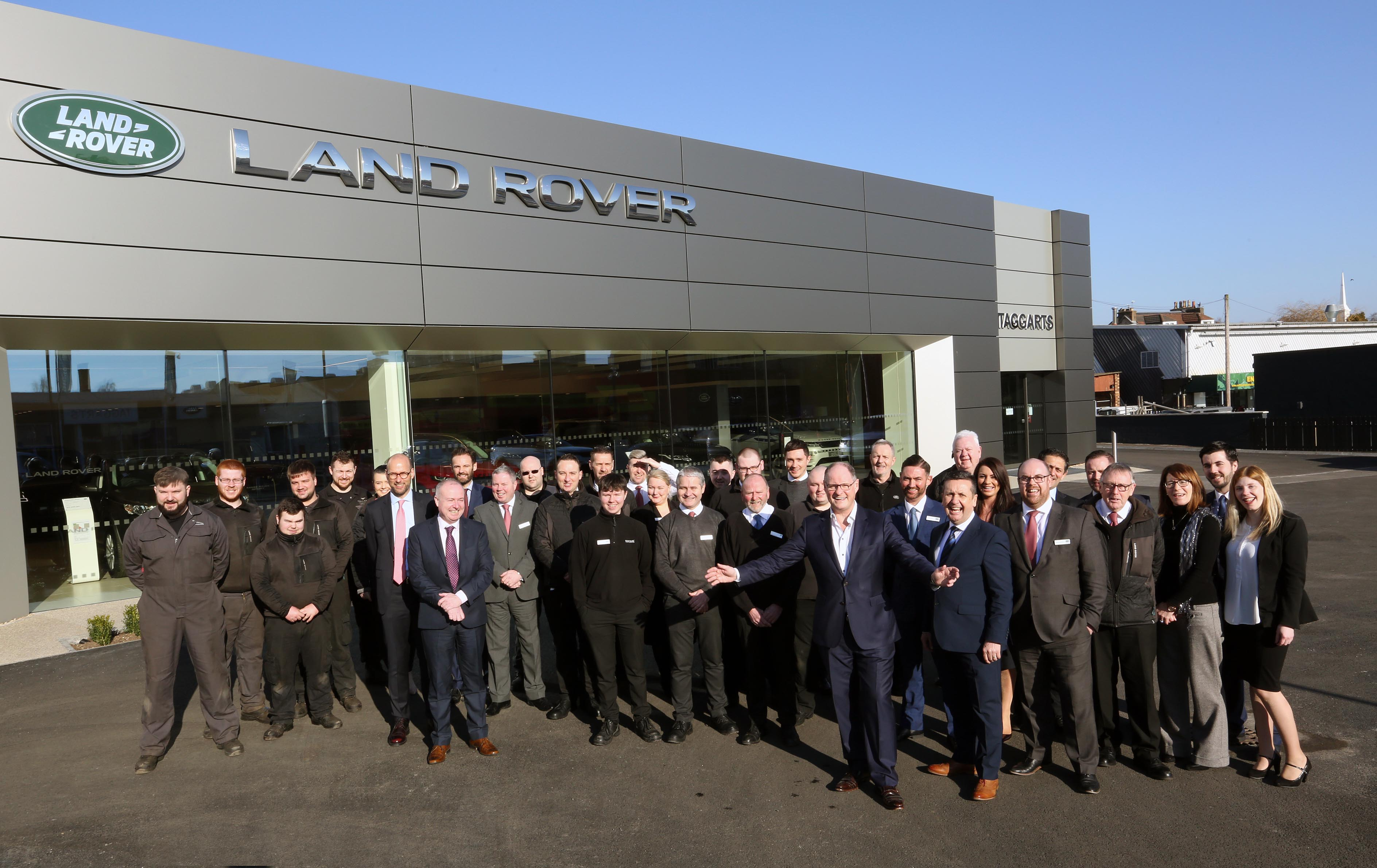Taggarts land rover motherwell