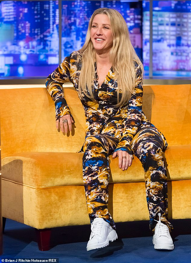 Ellie goulding wore fairytale themed jewellery brand, aisha baker, on the jonathan ross show