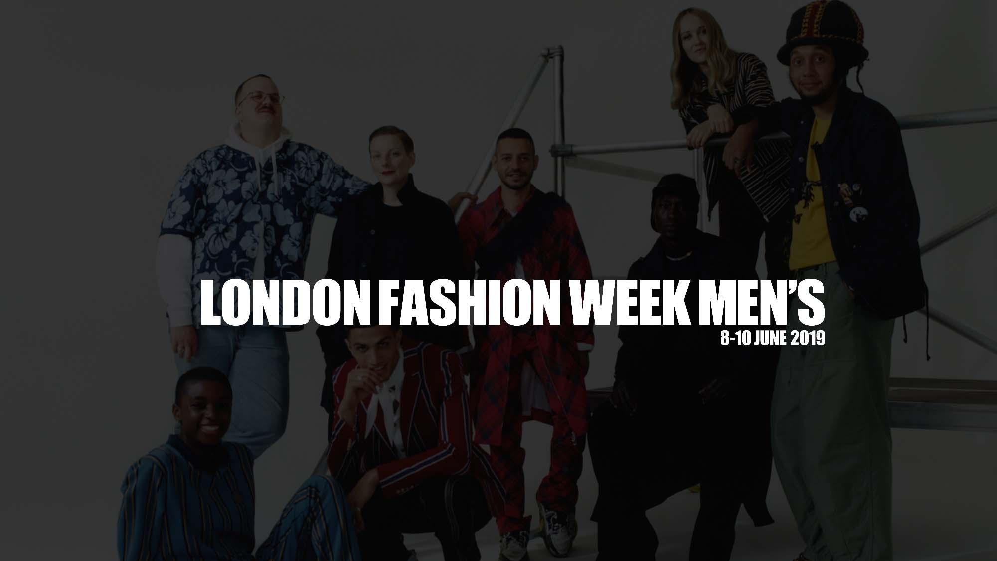 London fashion week men's june 2019 is a city wide celebration of creative diversity