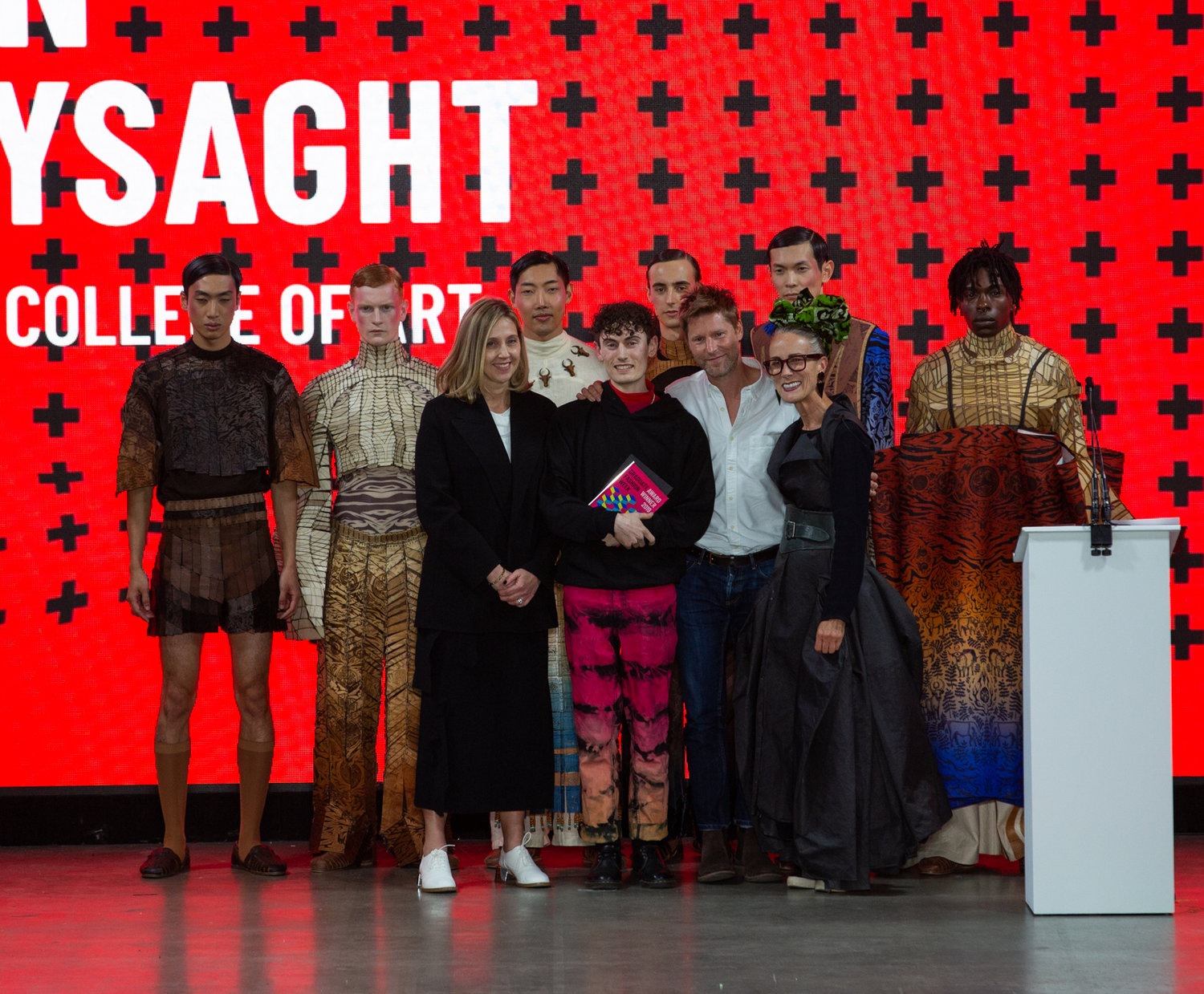Graduate fashion week winners of 2019's gala award show