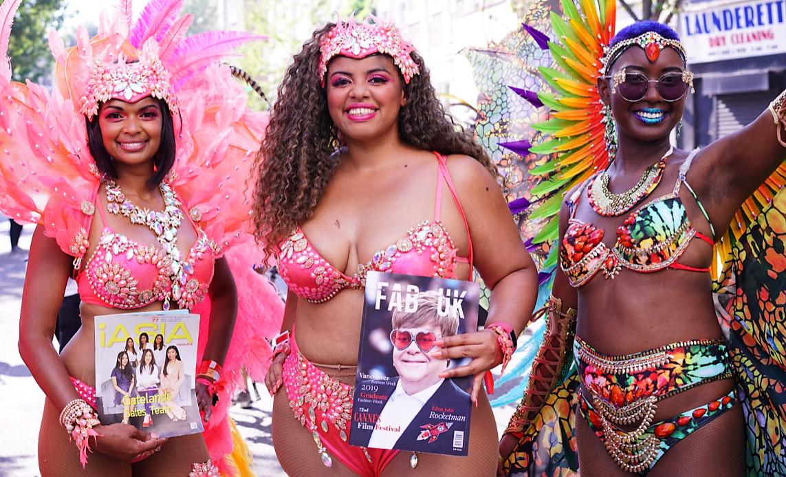 Notting hill carnival 2019 with bacchanalia masband