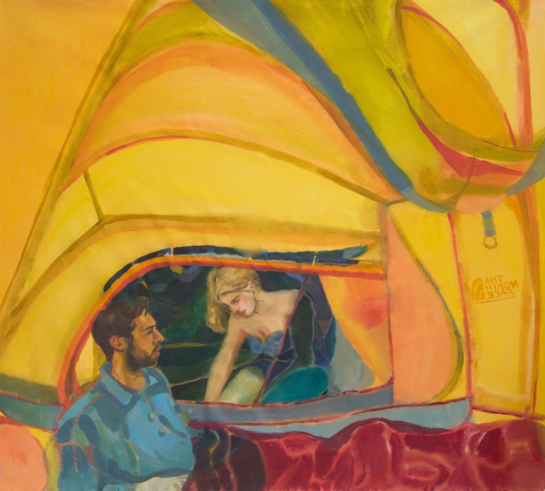 Debut london solo exhibition of rebecca harper, huxley parlour gallery