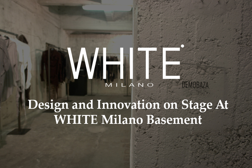 Design and innovation on stage at basement