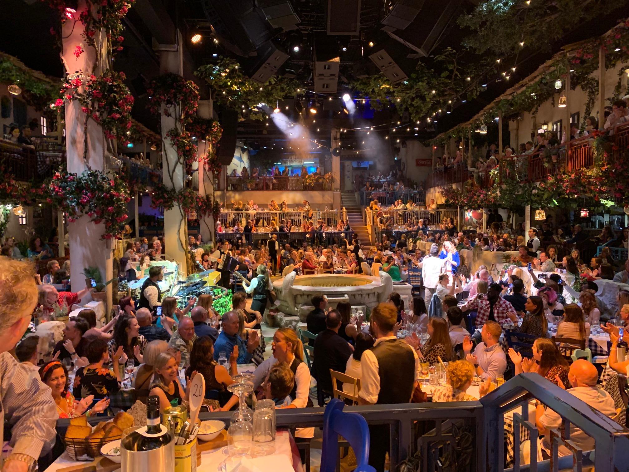 Mamma mia! the party theatre