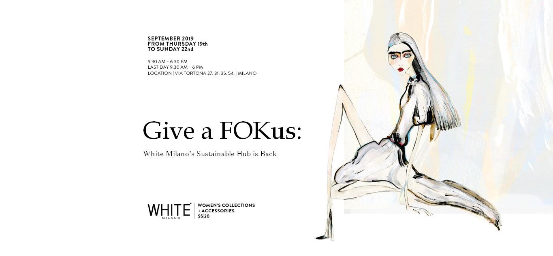 White milano's give a fokus
