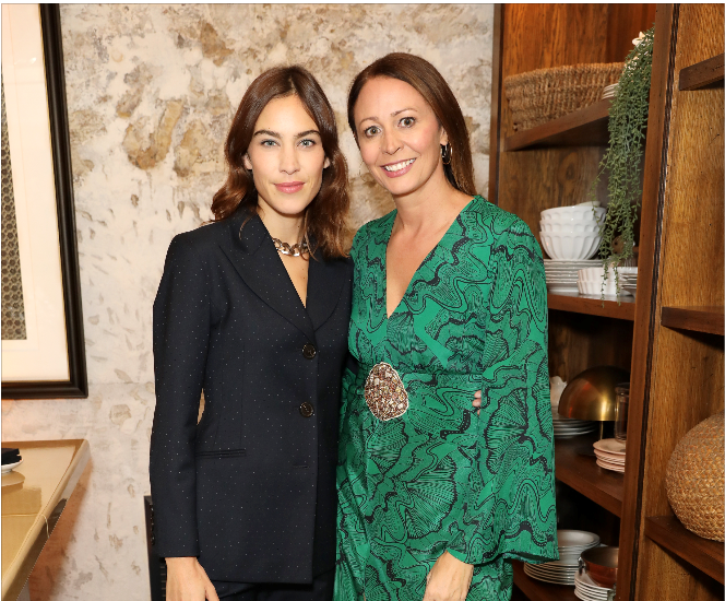 British fashion council and alexa chung celebrate british creative talent at the hoxton, paris
