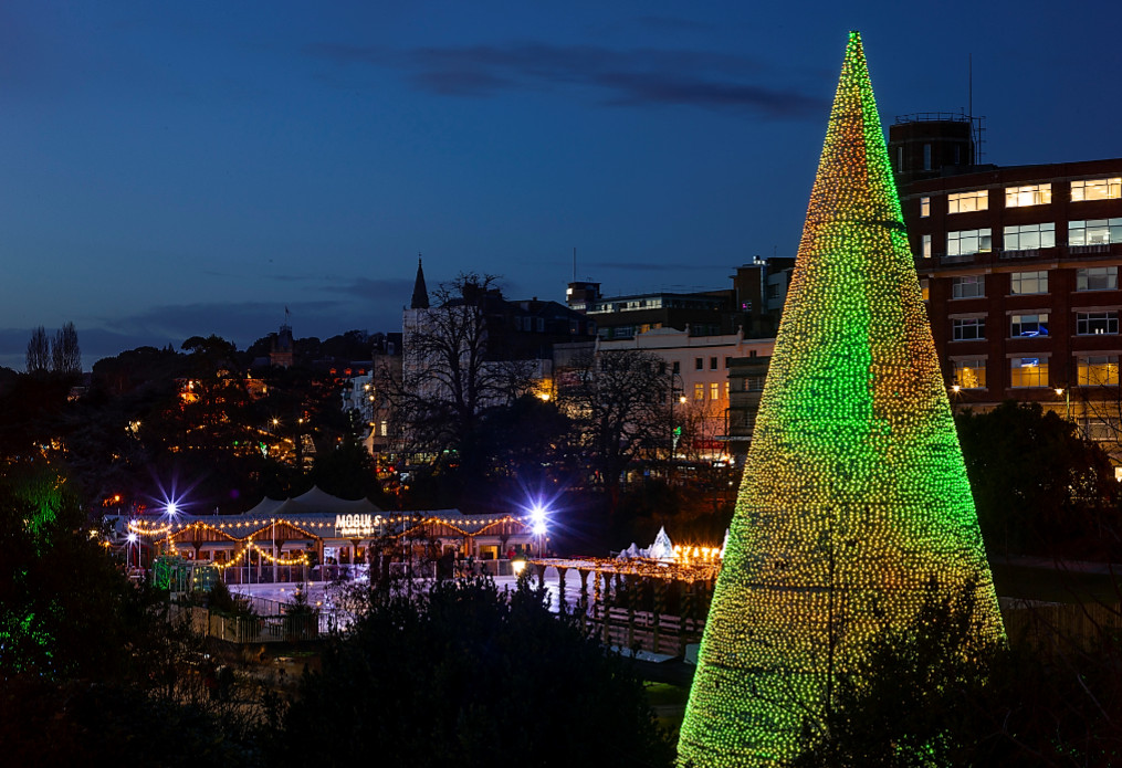 Christmas tree wonderland returns to light up bournemouth in 2019!