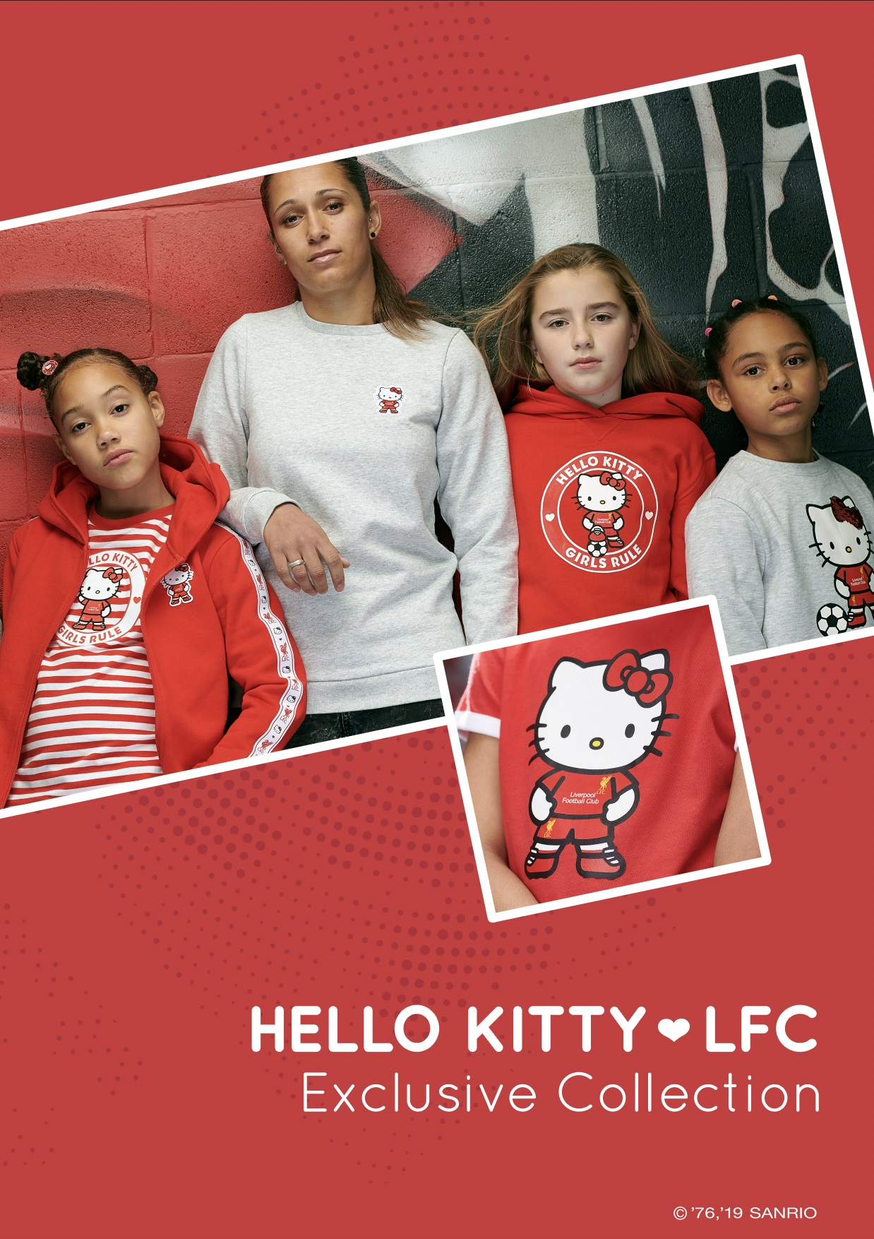 Lfc celebrates 45 years of hello kitty with new range