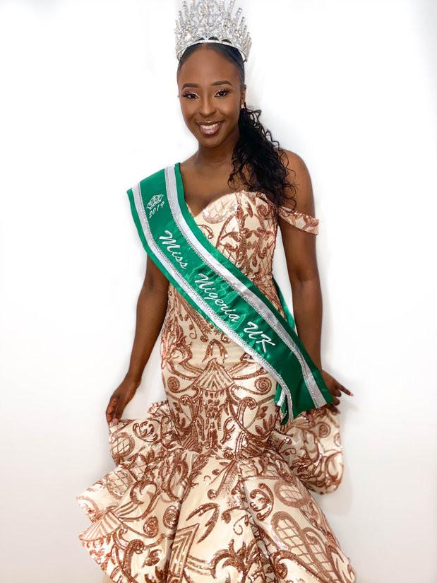 Miss nigeria uk 2019 adedoyin george