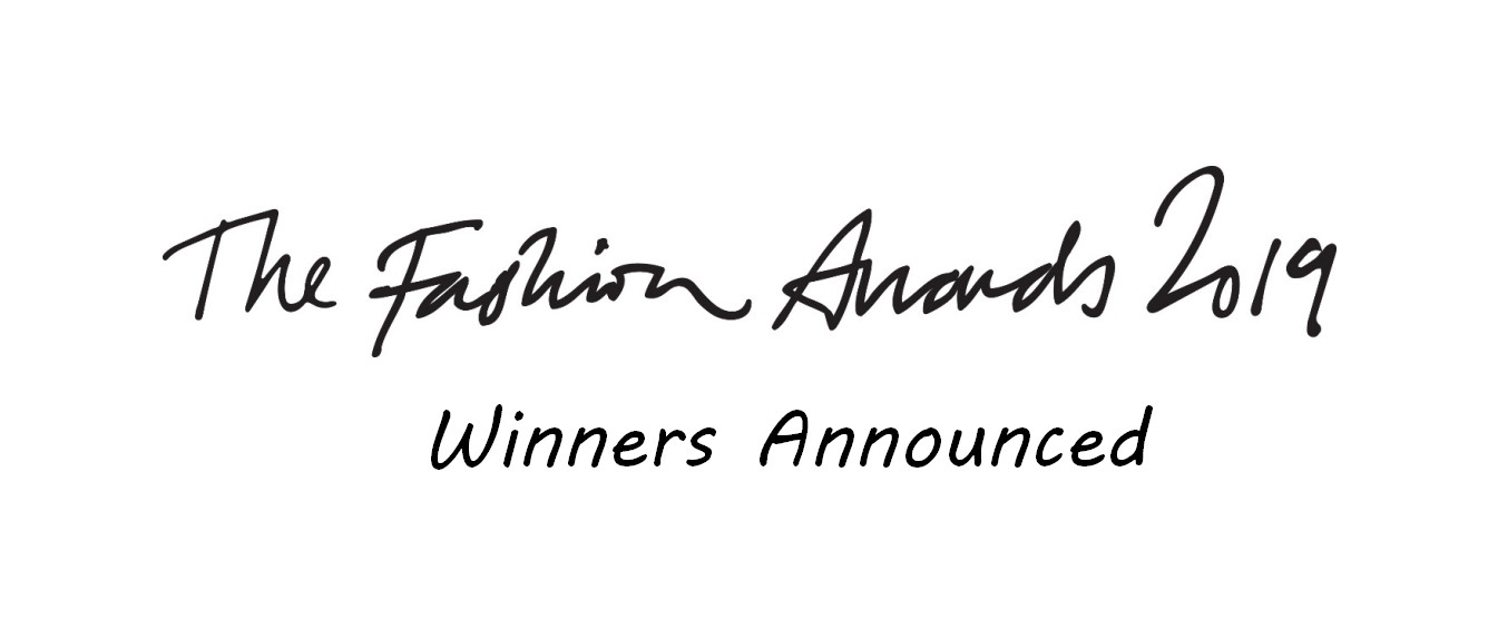 The fashion awards winners announced