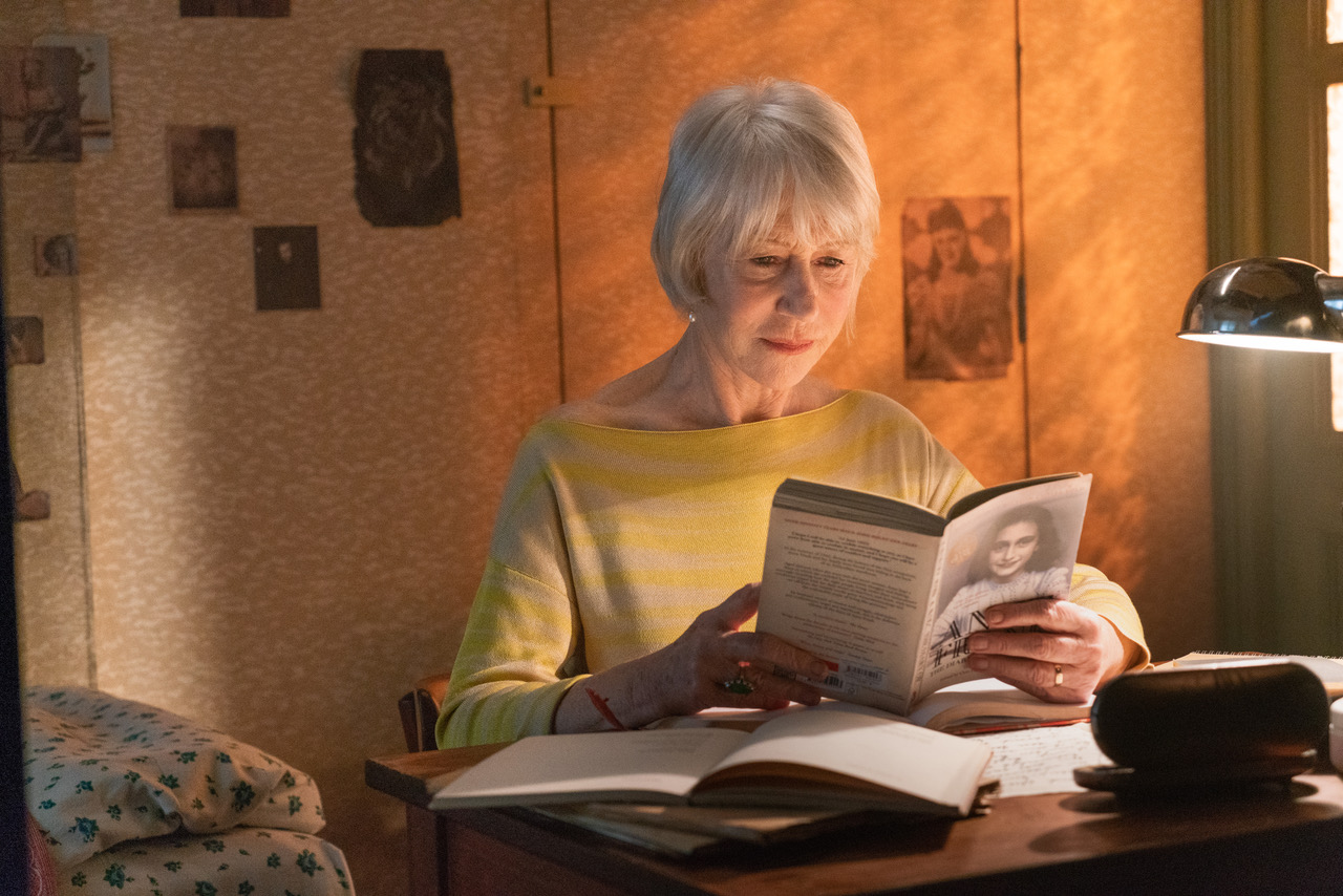 Helen mirren presents anne frank parallel stories