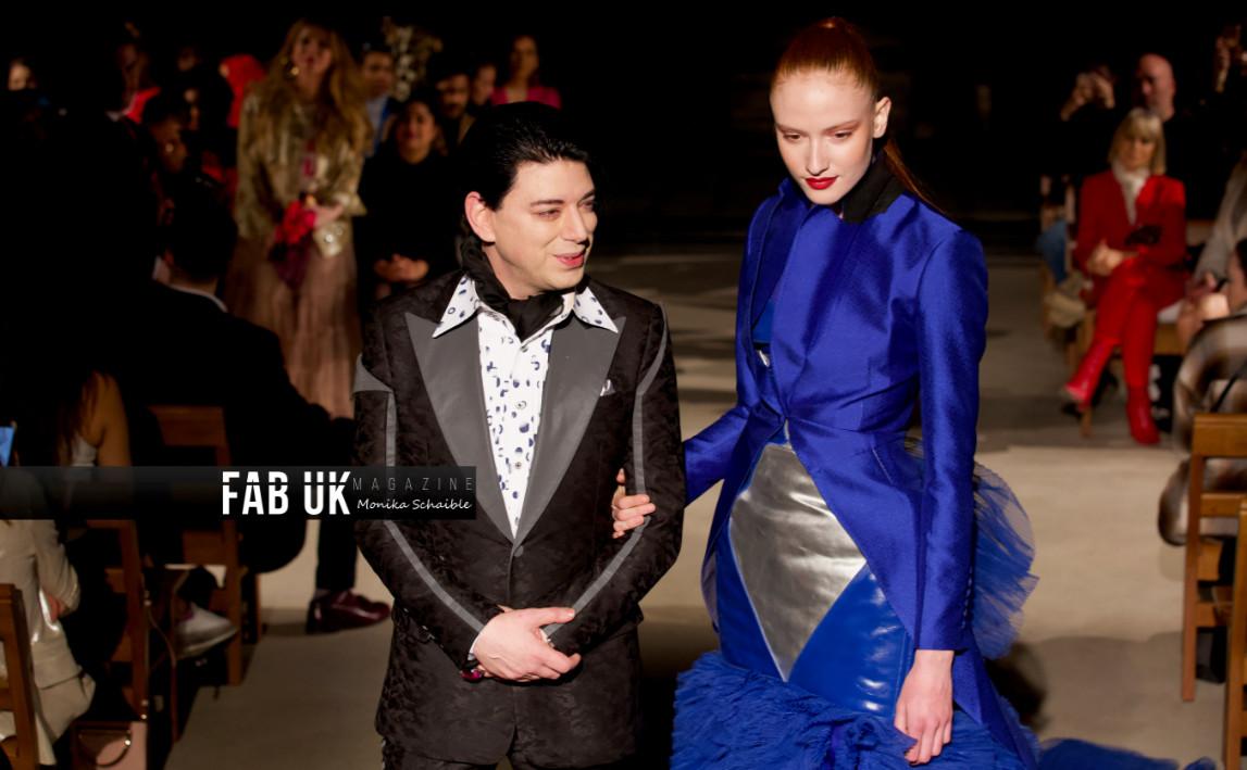 Malan breton aw20 show during london fashion week