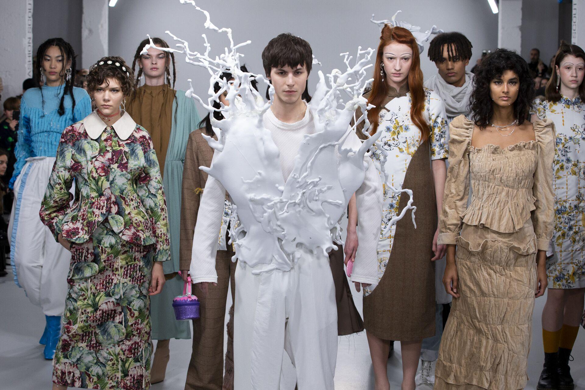 Refuse club post aw 20 london fashion week feature!