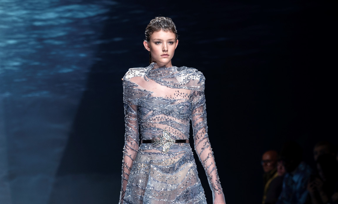 Ziad nakad atlantis at pfw ss20