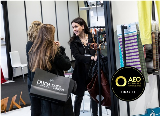 Pure origin nominated for aeo excellence award for best event launch