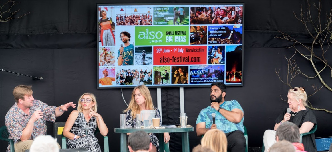 Salon london's also festival goes digital