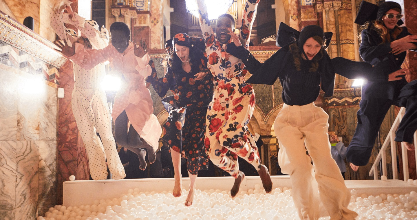 The british fashion council today launched the institute of positive fashion (ipf)