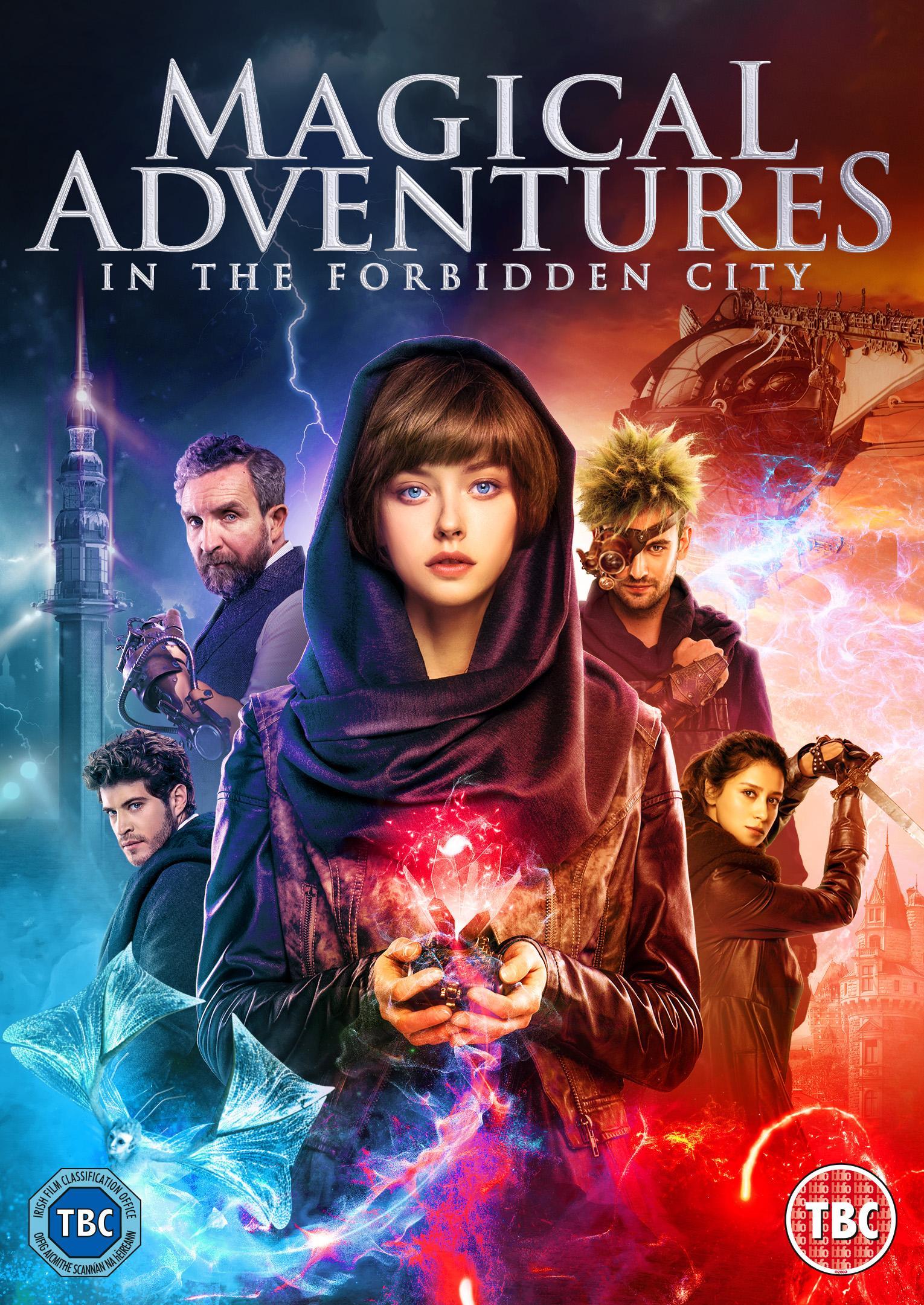 Magical adventures in the forbidden city