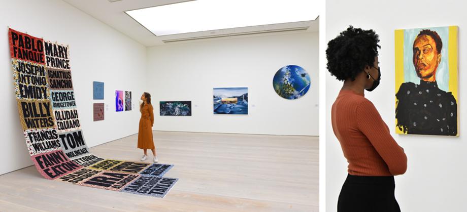 Saatchi gallery extends london grads now
