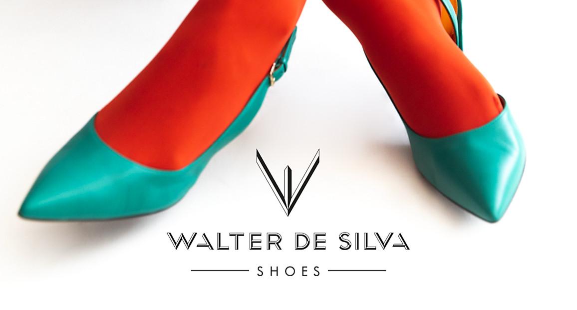 Walter de silva shoes skyblue