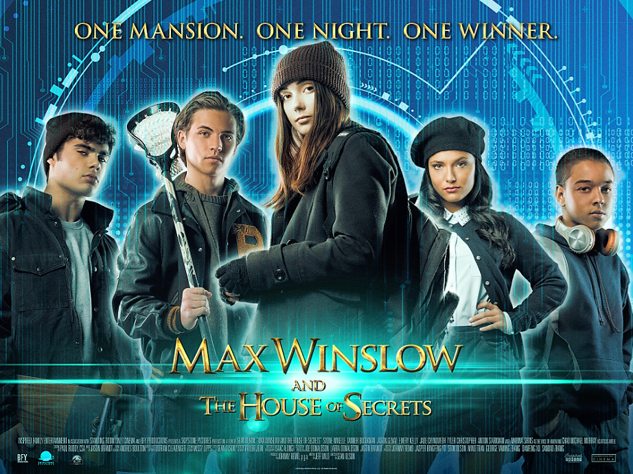 Spooky family sci fi, max winslow and the house of secrets.