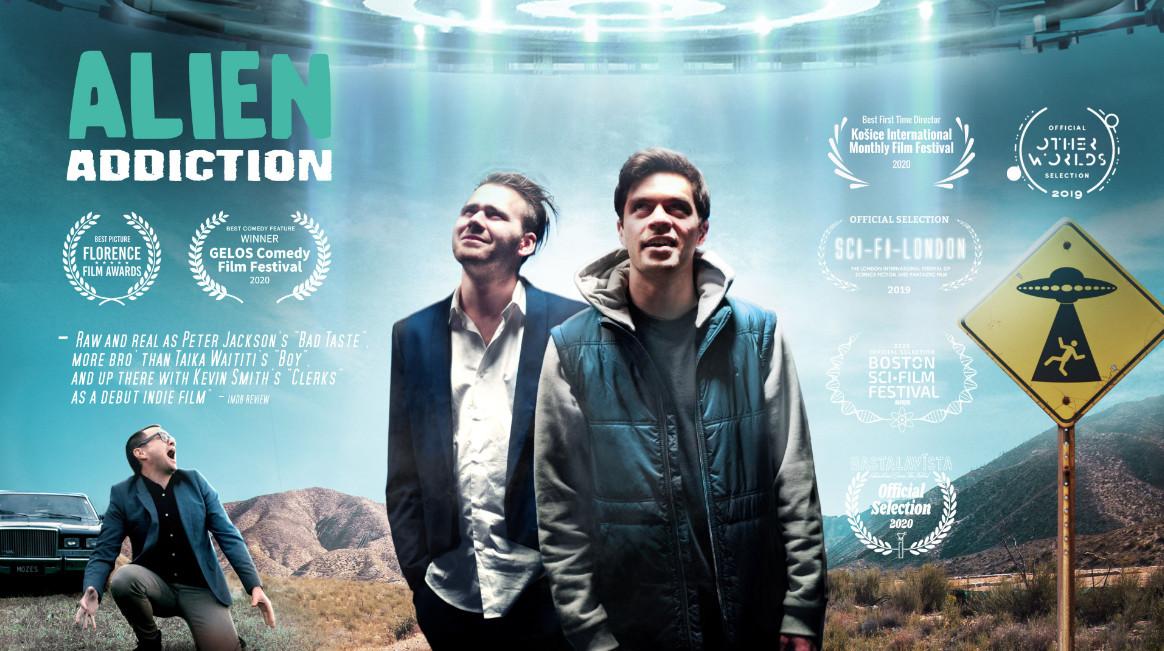New trailer for alien addiction sci fi comedy