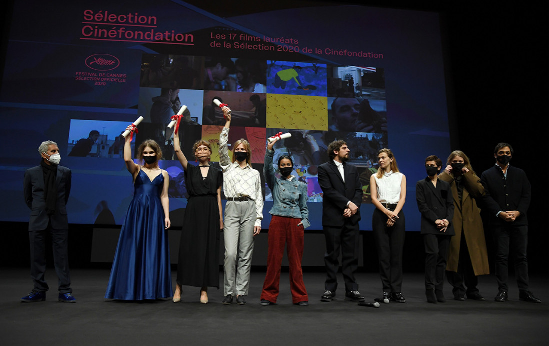 The 23rd cinéfondation selection prizes