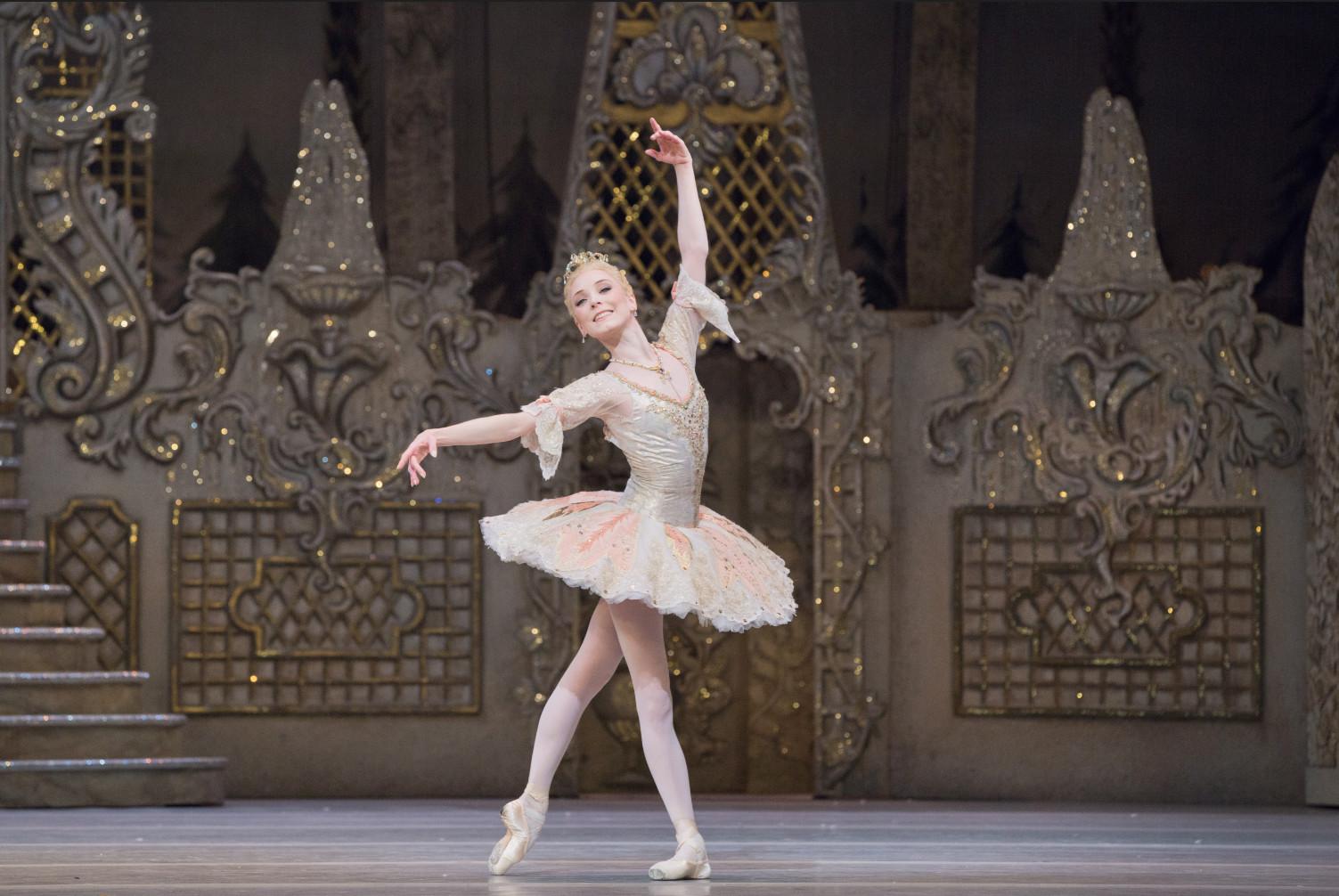 Sarah lamb as the sugar plum fairy in the nutcracker, the royal ballet. (c) 2017 roh. photographed by karolina kuras.