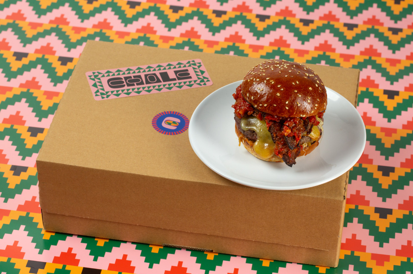 Black chefs develop the wahala burger to celebrate african cuisine