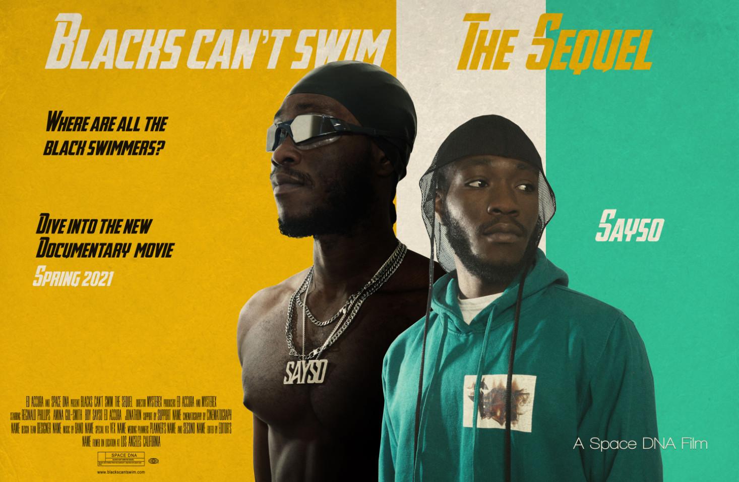 Blacks can't swim the sequel