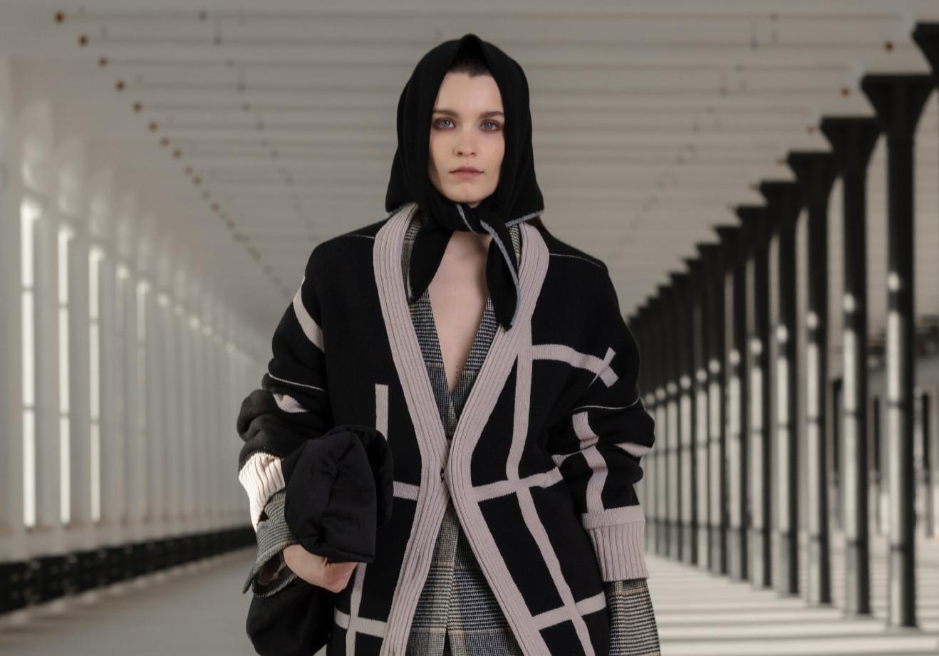 Nehera during paris womenswear week fall winter 2021 2022