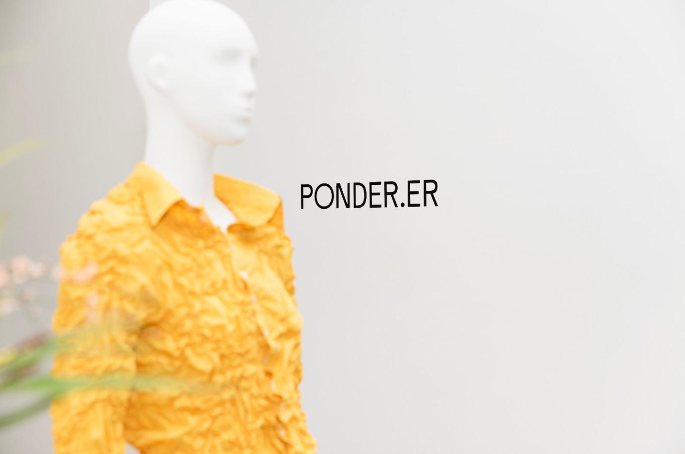 Ponder.er aw21 collection
