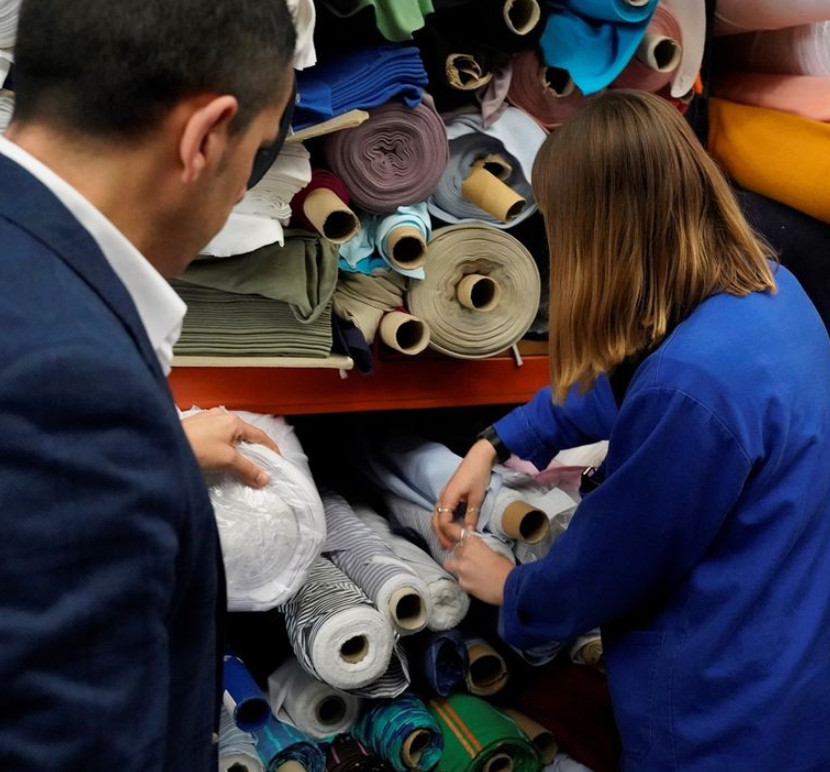 British fashion council launches the student fabric initiative