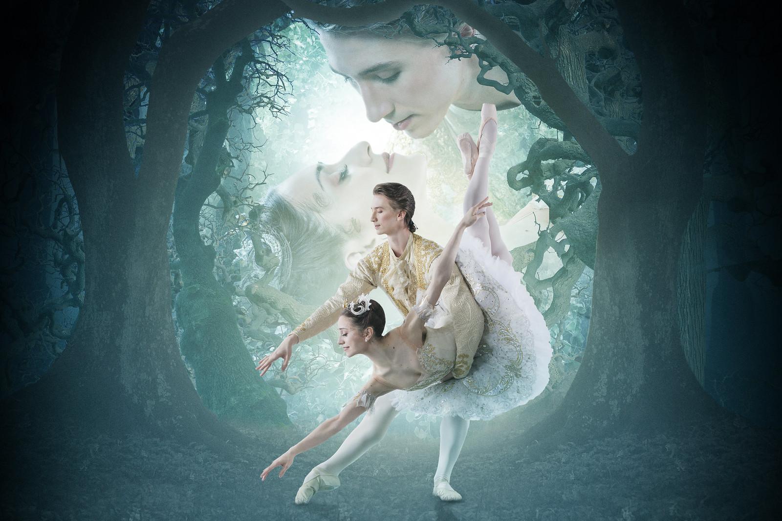 Marianela nuñez as princess aurora and vadim muntagirov as prince florimund in the royal ballet's the sleeping beauty