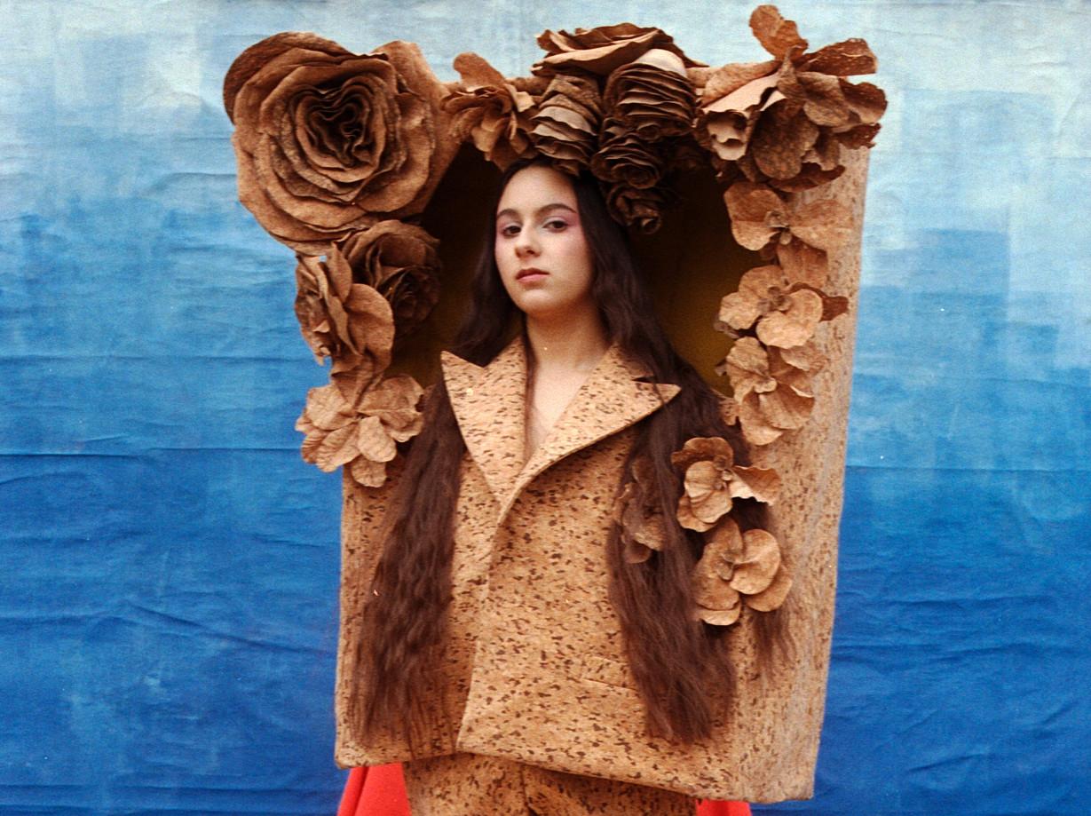 Anciela at mercedes benz fashion week russia