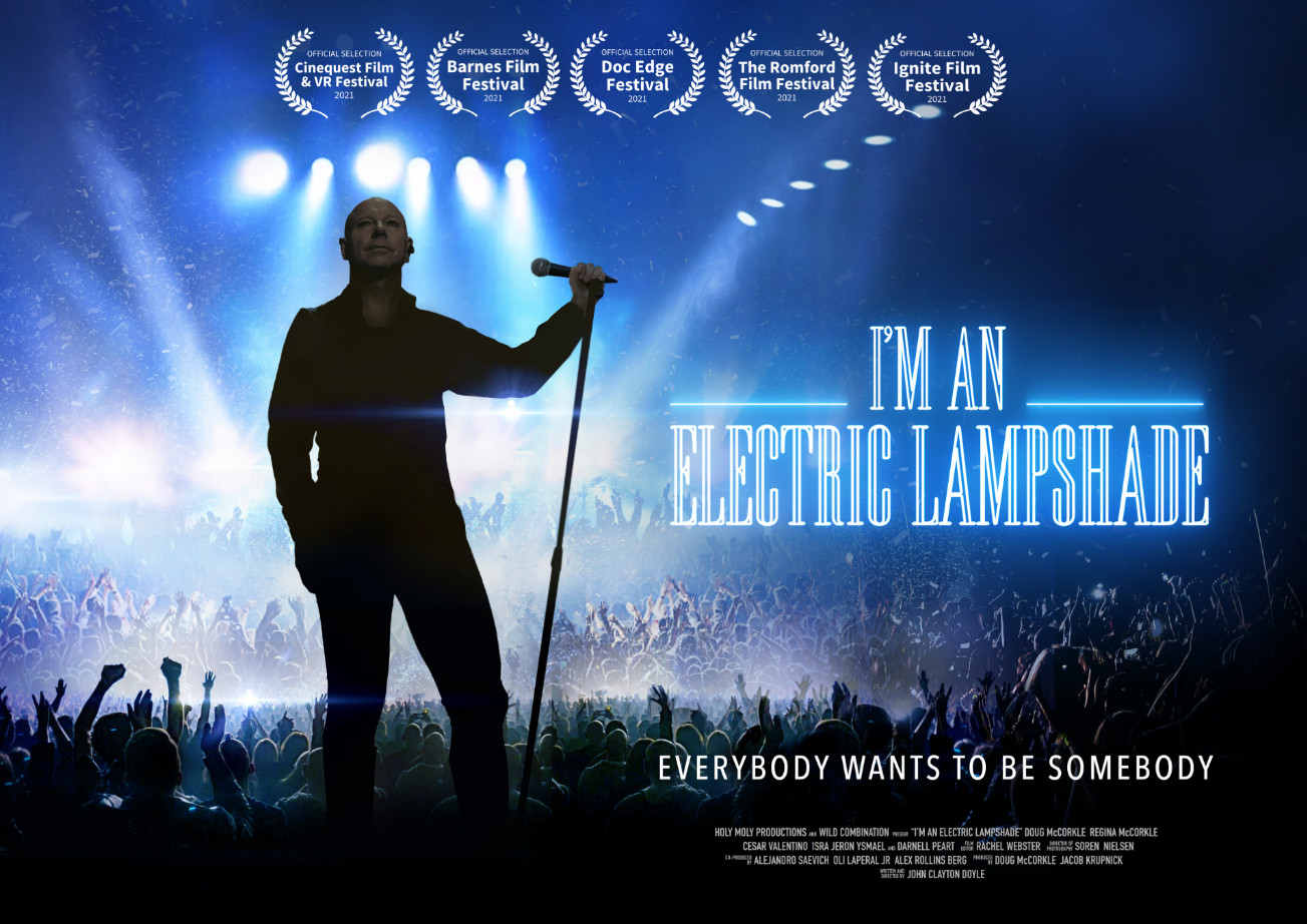I'm an electric lampshade mind bending musical odyssey confirmed for three uk film festivals this summer